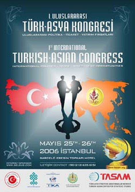 1st International Turkish Asian Congress