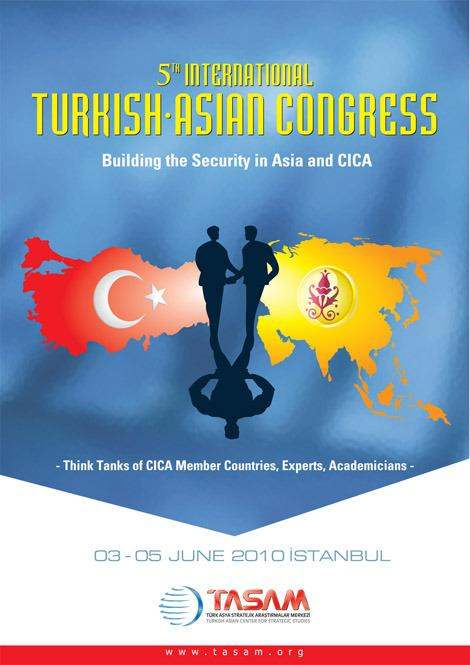 5th International Turkish Asian Congress