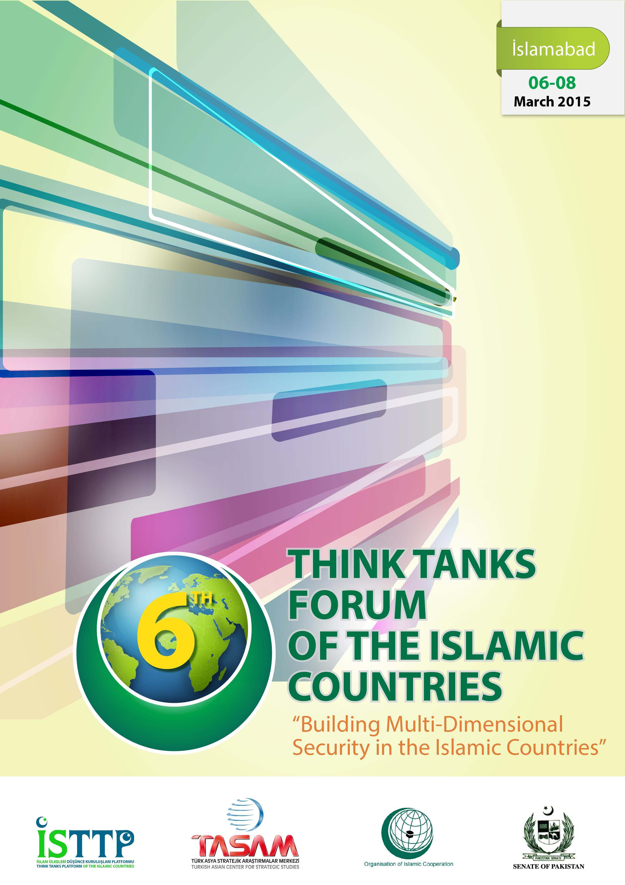 6th Think Tanks Forum of the Islamic Countries