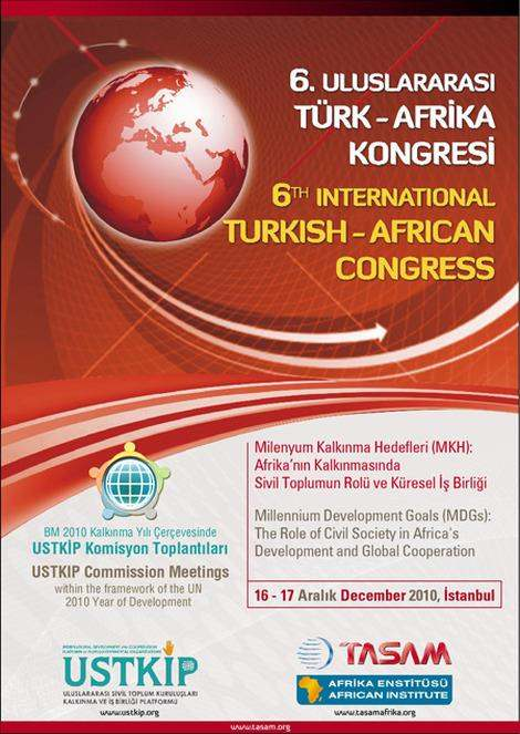 6th International Turkish - African Congress