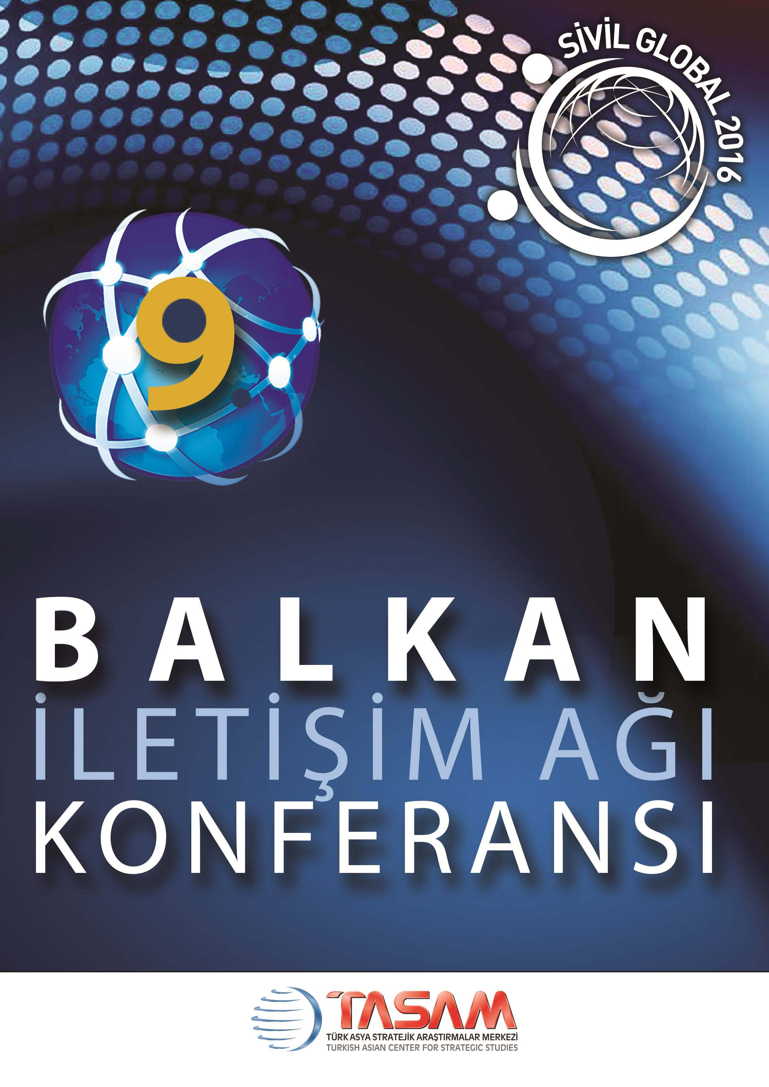 9th Balkan Communication Network Conference