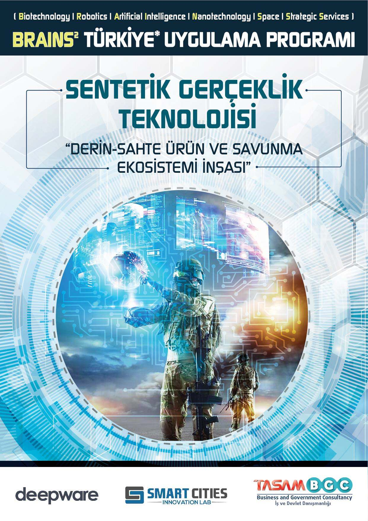 Synthetic Reality Technology (Deep Fake)  [ BRAINS² Turkey * Implementation Program ]