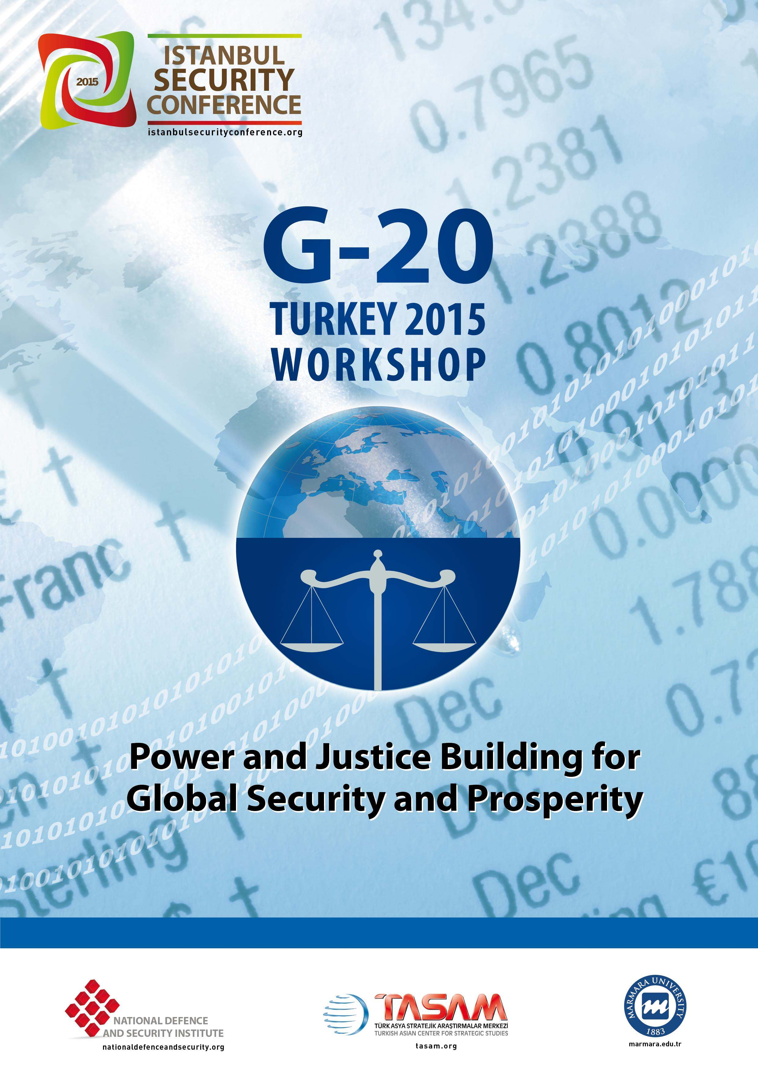 G-20 Turkey 2015 Workshop | Istanbul Security Conference 2015