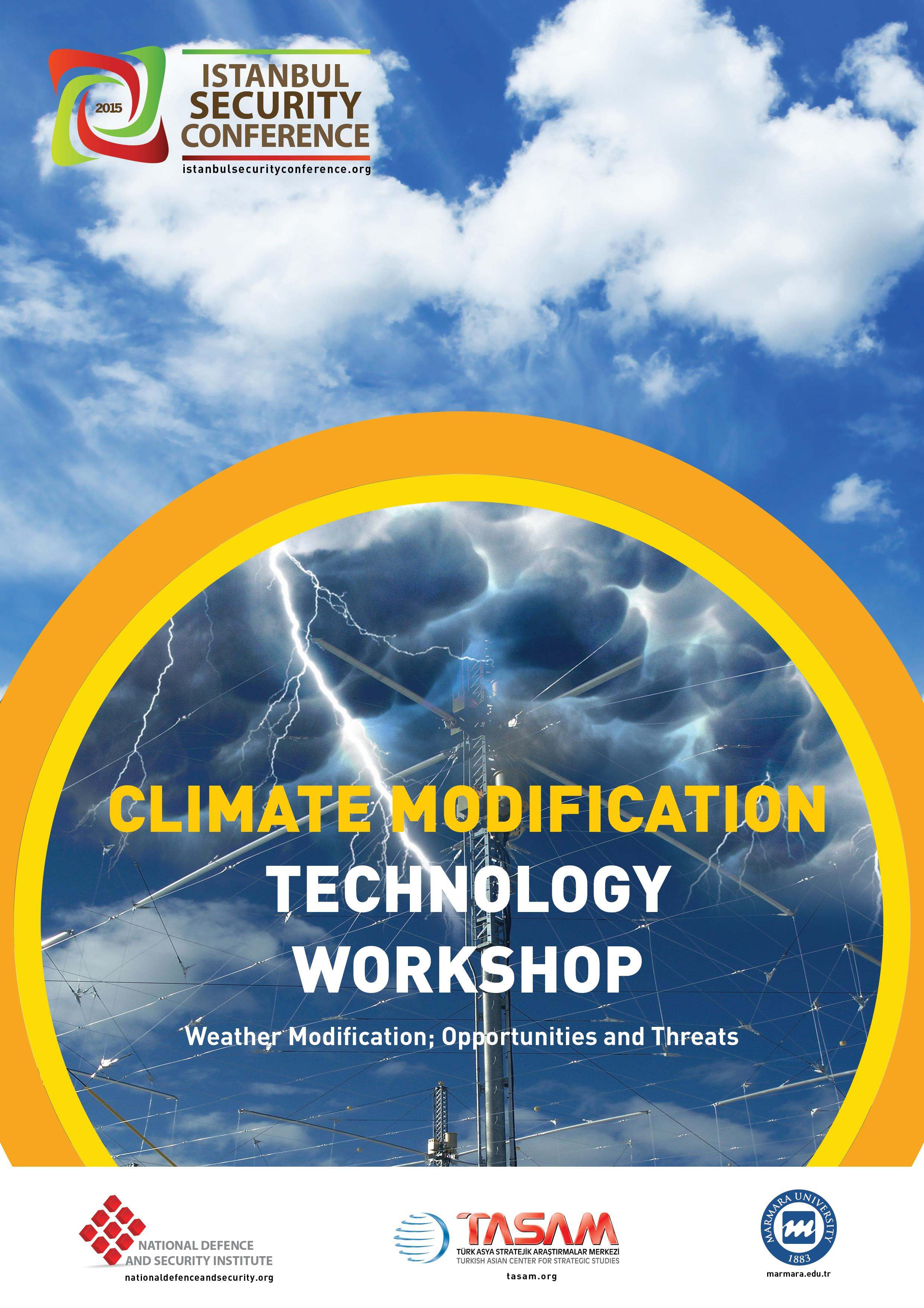 Climate Modification Technology Workshop | Istanbul Security Conference 2015