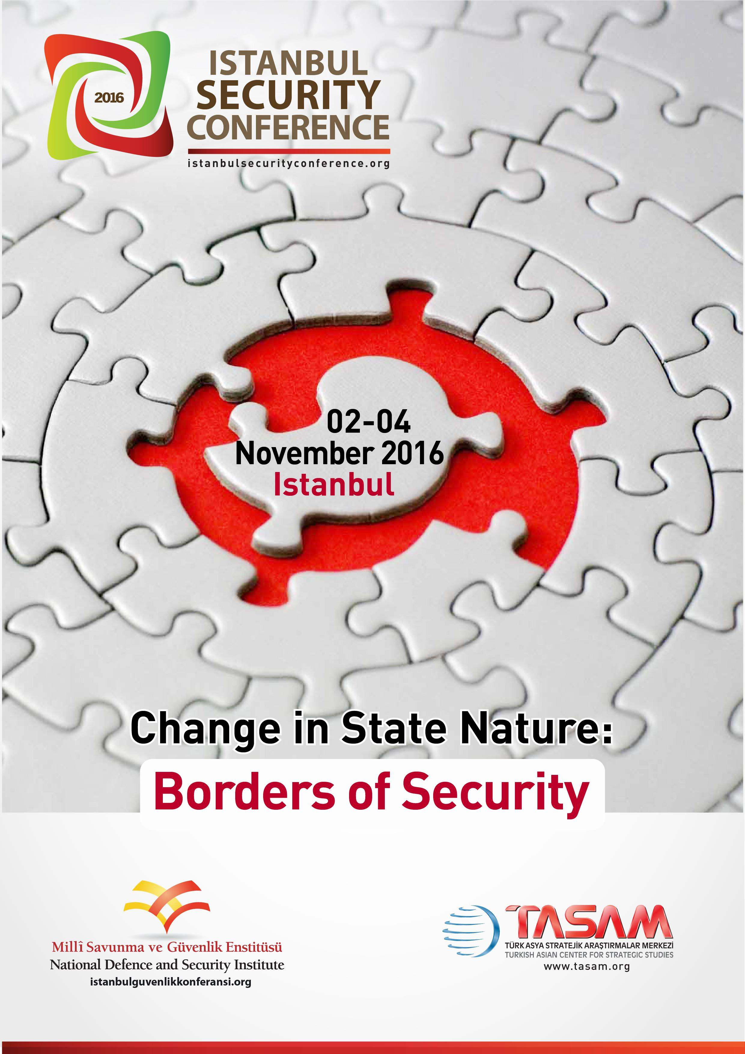 Istanbul Security Conference 2016