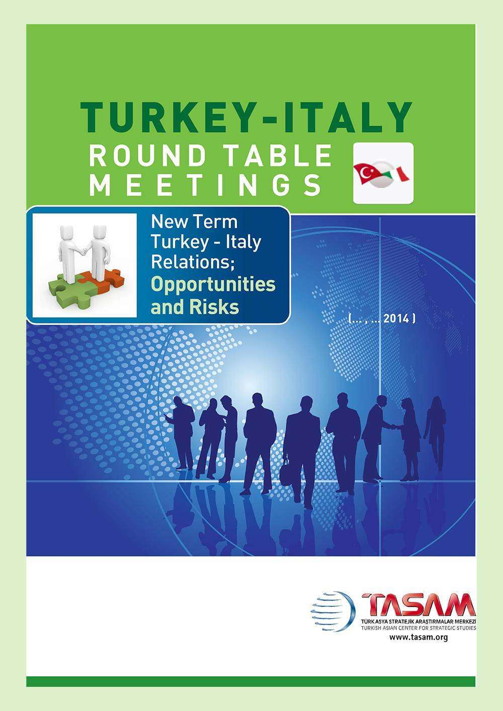 Turkey - Italy Round Table Meeting - 1