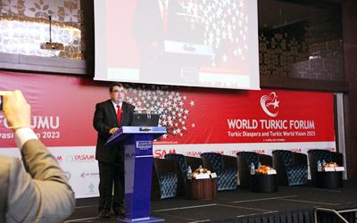 2. Dünya Türk Forumu Açılış Konuşması | Din, Dil, Tarih ve Coğrafya Yetmez
