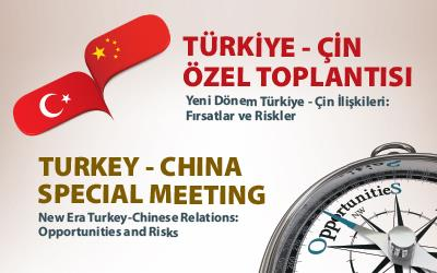 Turkey - China Special Meeting was held
