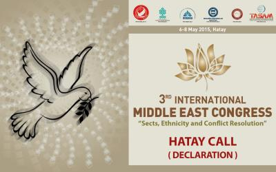 Hatay Call ( Declaration ) is Publicated!