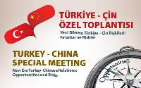 2nd Turkey - China Special Meeting was held