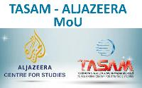 TASAM and Al Jazeera Centre for Studies MoU