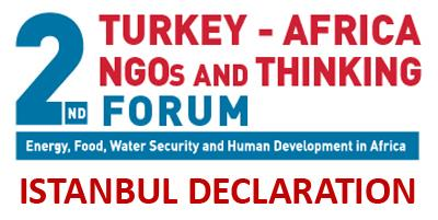 2nd Turkey - Africa Ngos and Thinking Forum Istanbul Declaration