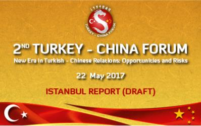 2nd Turkey - China Forum Istanbul Report (DRAFT)