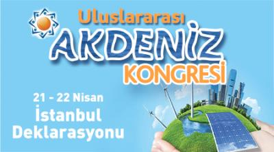 Uluslararası Akdeniz Kongresi  İstanbul Deklarasyonu (TASLAK)