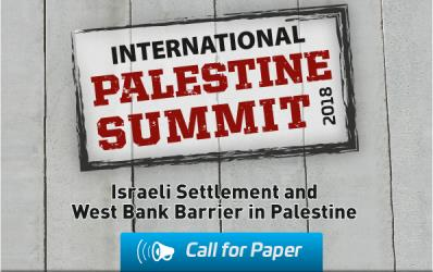Palestine Summit 2018 | CALL FOR PAPER