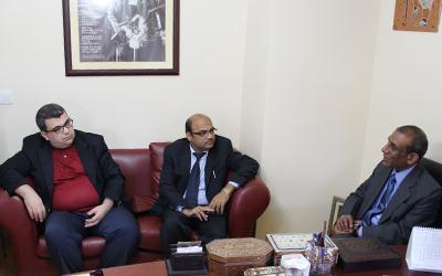 TASAM Visit of the Indian Ambassador