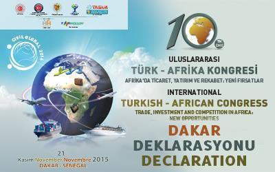 Dakar Deklarasyonu (Türkçesi) Yayında