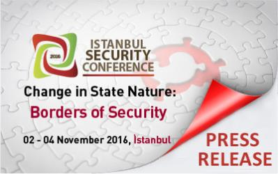 Istanbul Security Conference 2016 was held