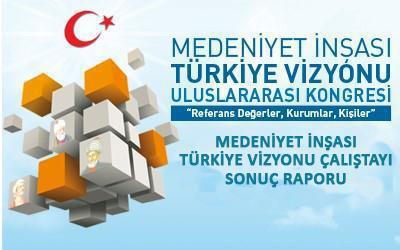 Medeniyet İnşası - Türkiye Vizyonu Çalıştayı - 3 | Sonuç Raporu