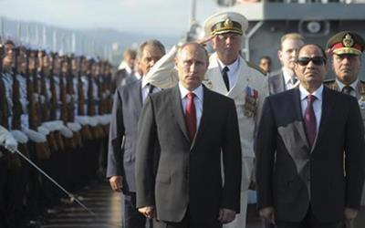 What Does Putin's Visit to Egypt Promise for the Middle East?