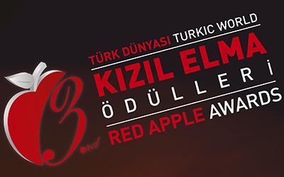 """Türk Dünyası'na yönelik """"Kızıl Elma Ödülleri"""" üçüncü kez sahiplerini buluyor."""